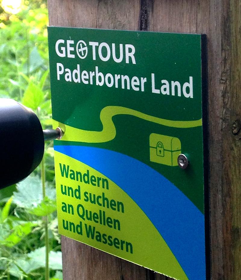 Die GeoTour Paderborner Land ist gestartet