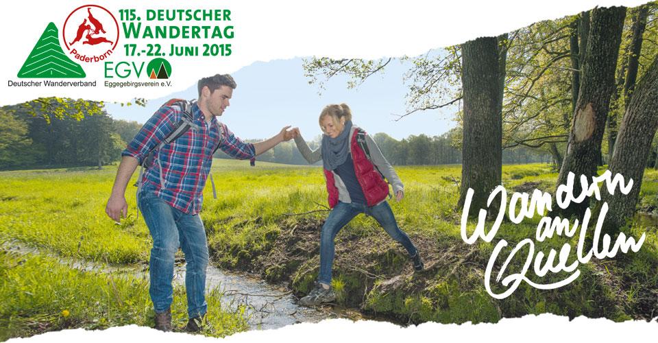 Heute beginnt der Deutsche Wandertag in Paderborn