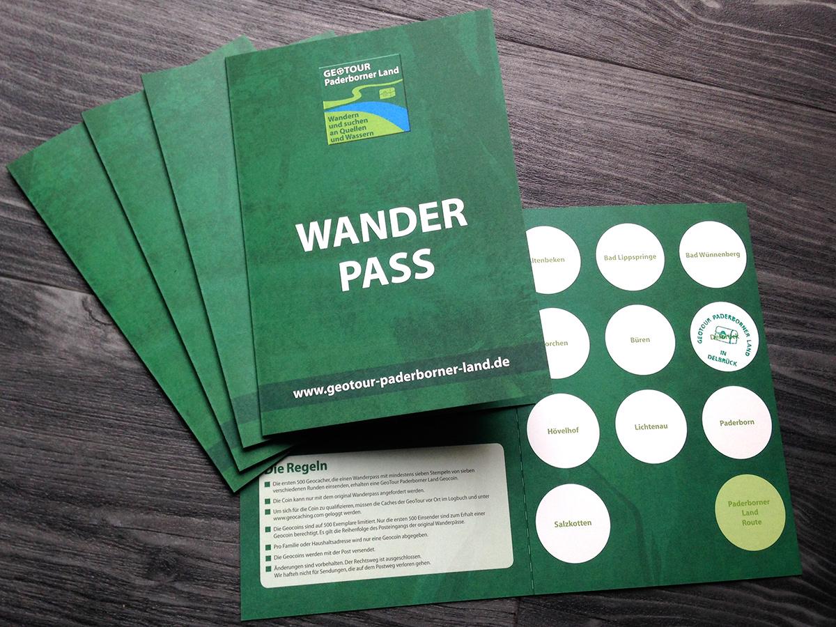 Wanderpass ist gedruckt erhältlich