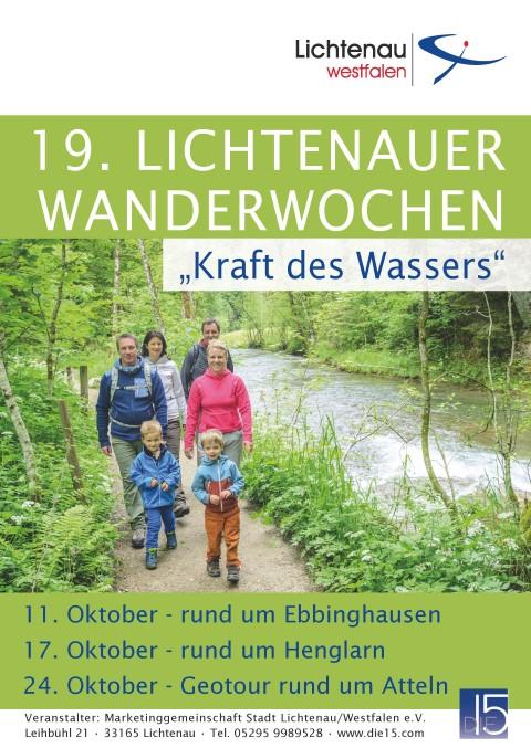 GeoTour bei den 19. Lichtenauer Wanderwochen