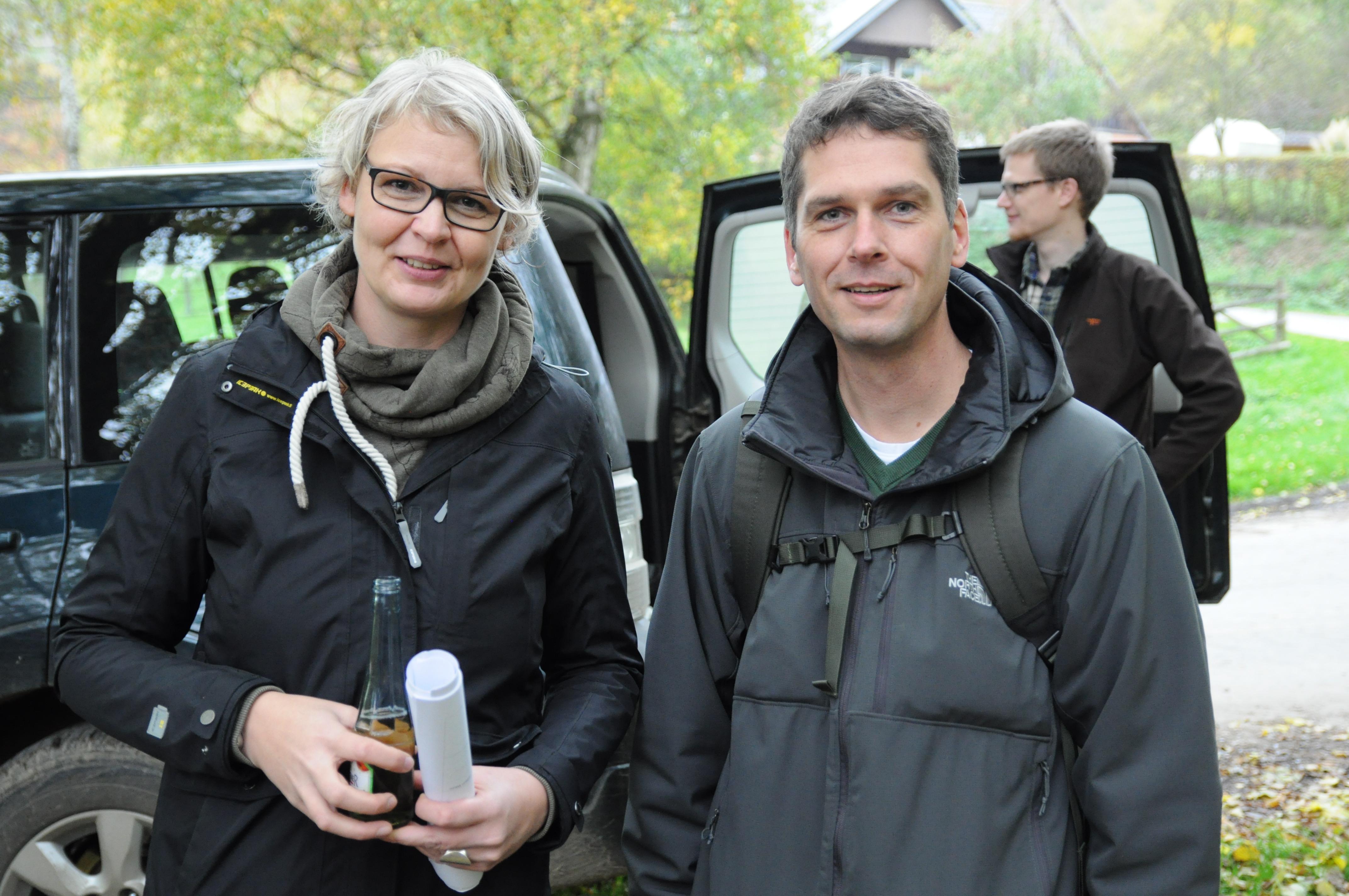 Impressionen von der GeoTour Wanderung in Lichtenau