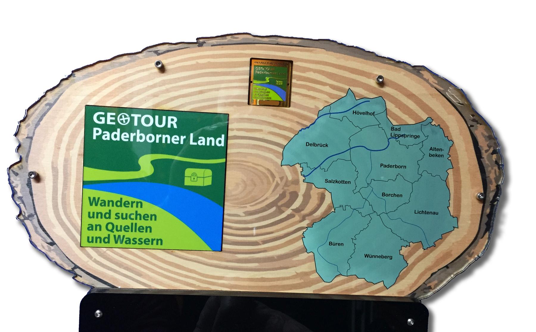 Ein besonders schöner Platz für unsere GeoTour-Geocoin